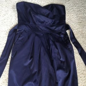 Navy Blue TeezeMe Cocktail Dress, Size: 5